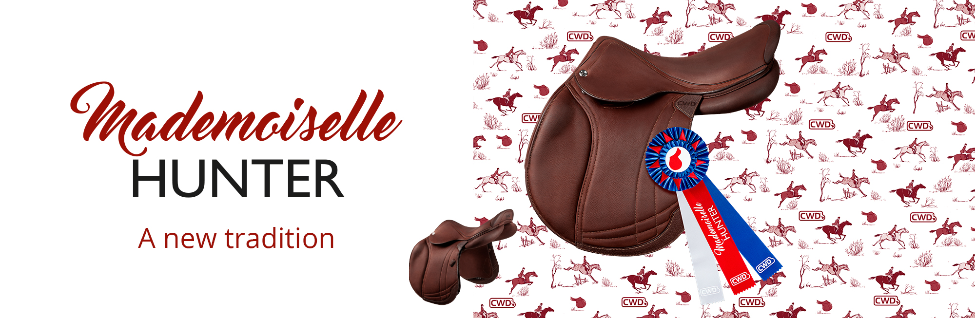 Hunter 2Gs Mademoiselle saddle